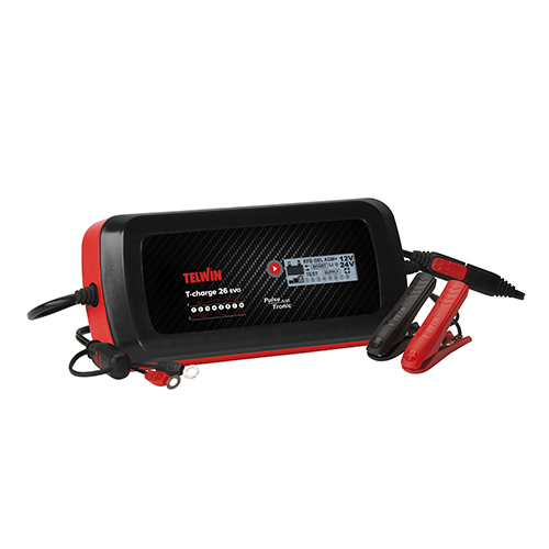 TELWIN CARREGADOR T-CHARGE 26 EVO